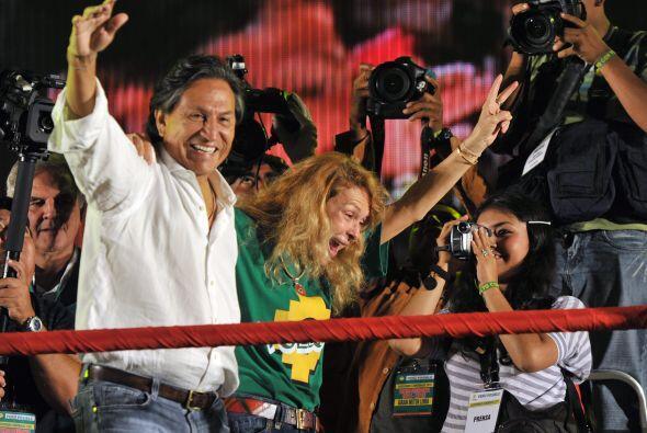 Toledo ha atacado a los candidatos Humala y Fujimori desde el segundo de...