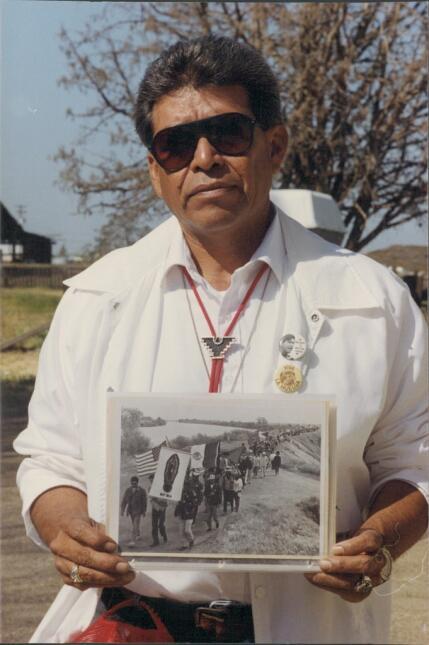Roberto Bustos y sus recuerdos de hace 50 años.