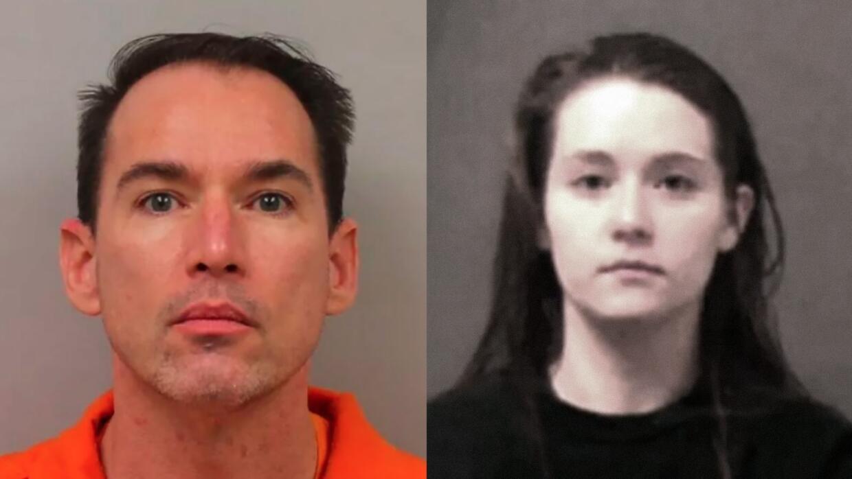 Lloyd Neurauter, de 45 años de edad, y su hija Karrie Neurauter, de 20 a...