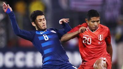 Edison Flores resaltó las virtudes del Team USA y calificó de bueno el 1-1 de su Perú