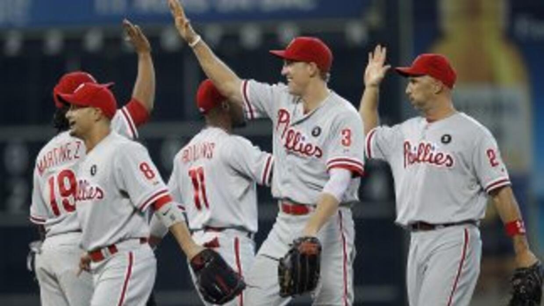 Los Phillies llegaron a 95 victorias en la temporada y sellaron así su b...