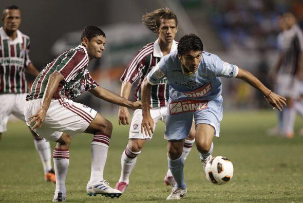 El encuentro fue equilibrado y el Fluminense no logró imponer su localía...