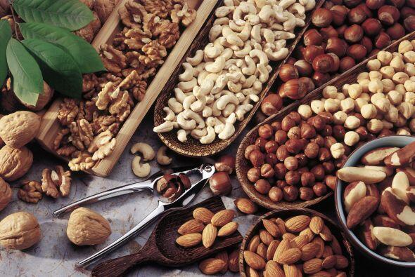 'Nuts'. Un producto de bandera de la dieta mediterránea son los frutos s...