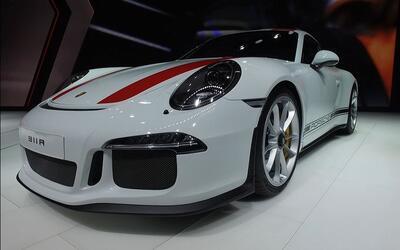 Porsche 911 R - Ginebra 2016 A Bordo