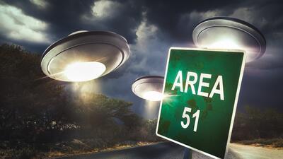 El Área 52, lugar donde supuestamente estudian ovnis