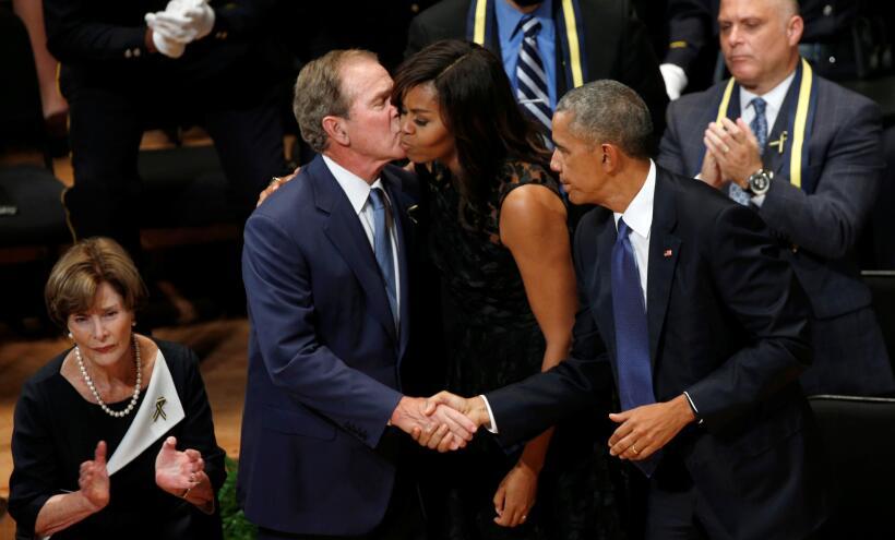 Obama en Dallas