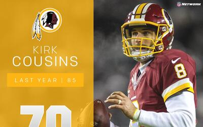 #70: Kirk Cousins (QB, Redskins) | Top 100 Jugadores 2017