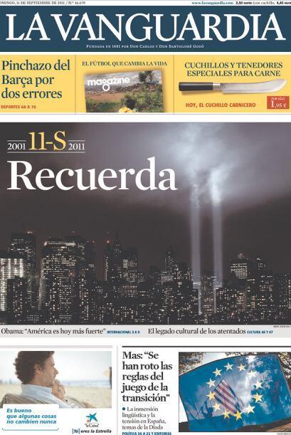 Cortesía de La Vanguardia de Barcelona, vía Newseum.