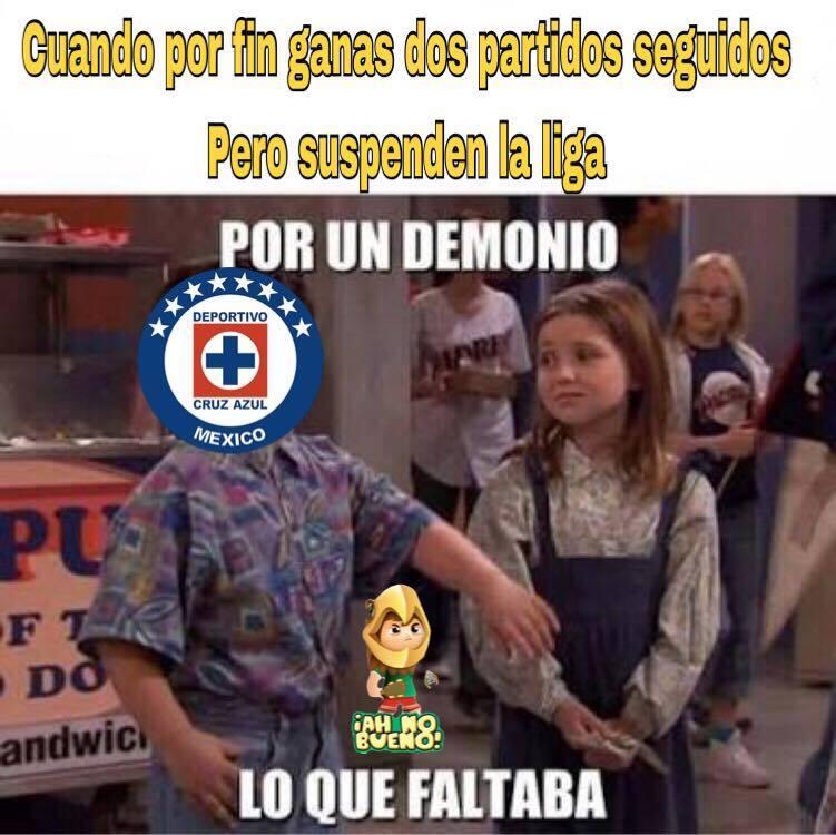 La Liga MX se suspendió... ¡Pero los memes no! 17155508_653171311549466_...