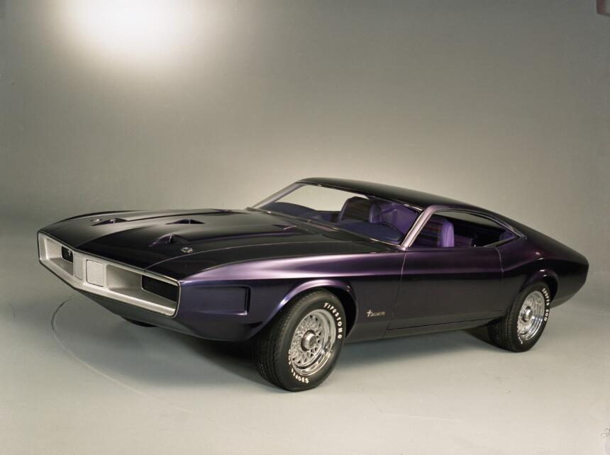 Medio siglo del Ford Mustang Fastback 1970_Ford_Mustang_Milano_concept_C...