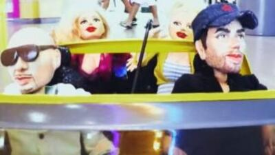 Enrique Iglesias y Pitbull se lucen como marionetas en este nuevo videoc...