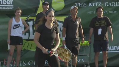 Ana Caty Hernández quedó en ridículo ante la tenista número uno del mundo
