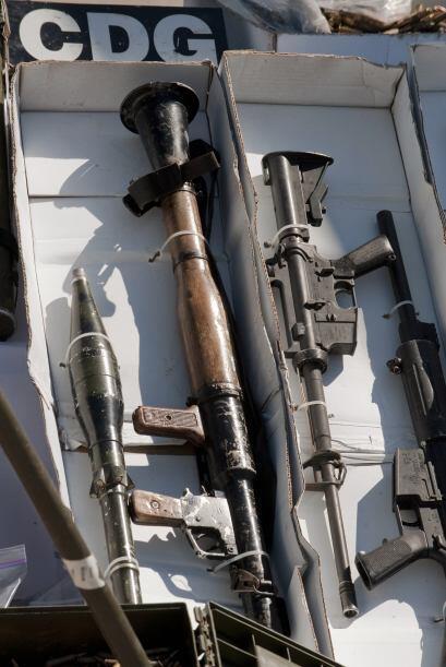 """Además afirmó que es también EU """"el principal proveedor de armas para lo..."""
