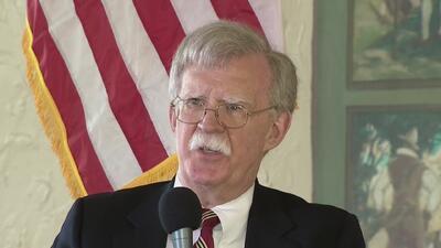"""""""Hasta que no veamos un cambio del gobierno de Cuba no dejaremos de presionar"""": John Bolton"""