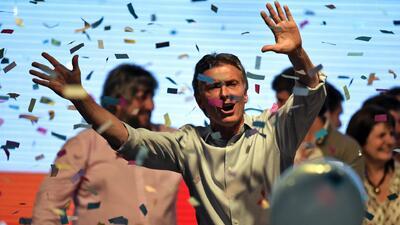 Mauricio Macri vence las elecciones de Argentina