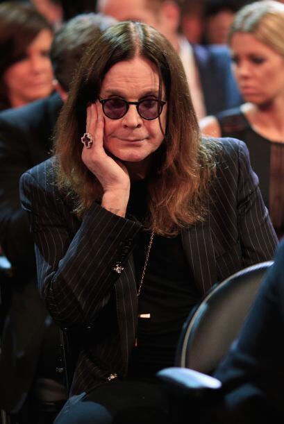 ¿Aburrido Mr. Osbourne? Ya ahorita sale Metallica para que entre en onda...