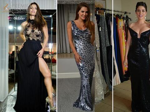 ¡En sus pruebas de vestuario lucieron impactantes! Con sus vestido...