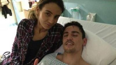 Anthony Crolla se recupera de las fracturas (Foto: Facebook).