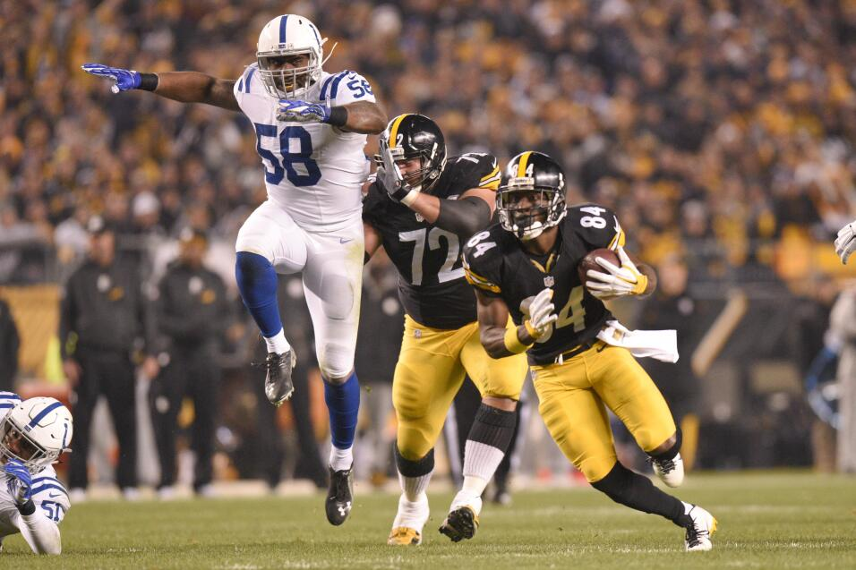Los Steelers mantienen su paso para poder llegar a la postemporada al de...