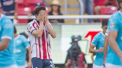 En fotos: Querétaro le impidió el triunfo a Chivas en el tiempo de reposición