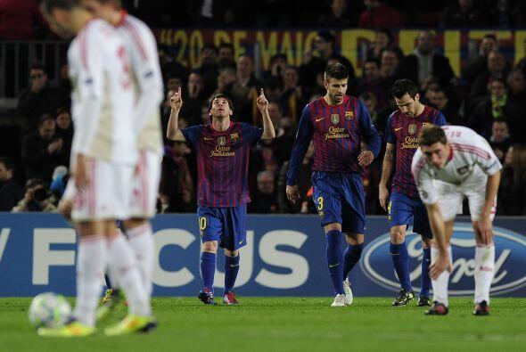 Messi, coleccionista de tripletes, se supera partido a partido y no pare...
