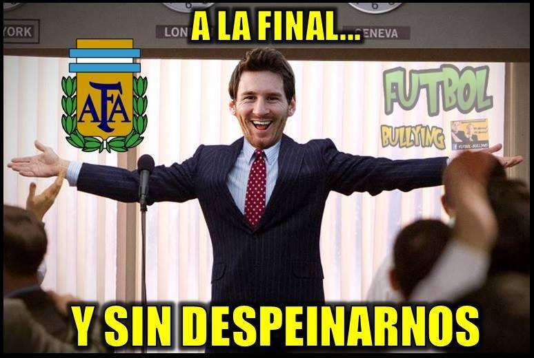 Argentina goleó a Estados Unidos y las burlas no pudieron faltar...