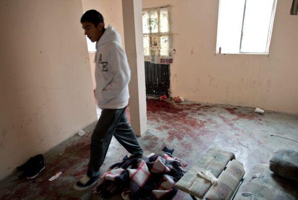 La masacre de Salvácar se registró el pasado 30 de enero cuando un grupo...