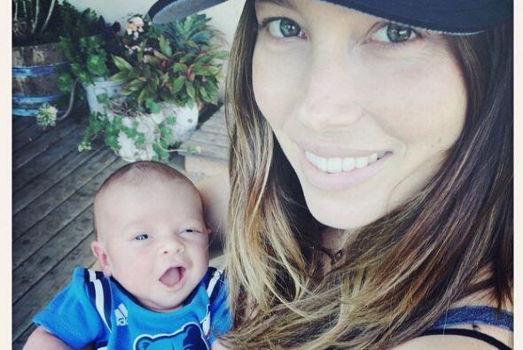 Jessica Biel y Justin Timberlake festejan el primer día del niño junto a...