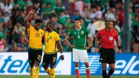 Jamaica se vengó de la final de 2015 y dejó a México fuera de la final d...