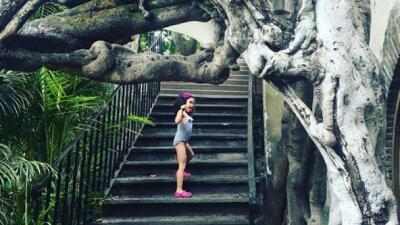La hija de Lorena Rojas ya es una niña grande y se fue de vacaciones con su tía