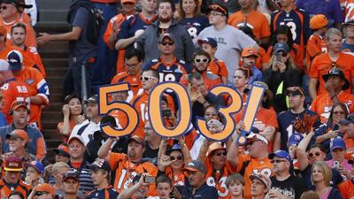 Peyton Manning llegó a 503 pases para touchdown en su carrera (AP-NFL).