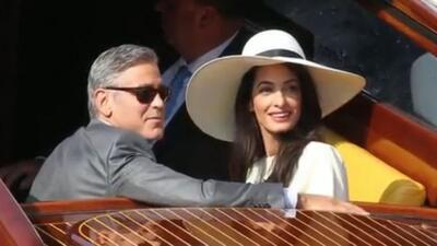 Resumen de la boda de George Clooney y Amal Alamuddin