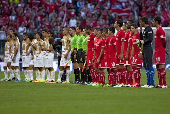 Toluca vs. Pumas -  El domingo se cierra la actividad de la fecha tres c...