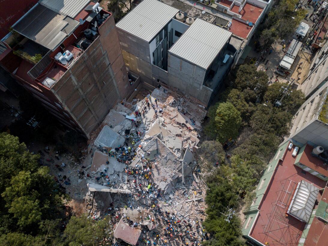 Terremoto México Aéreas