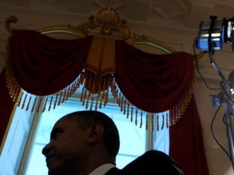 La popularidad del presidente Barack Obama sigue alta en Europa, pero es...