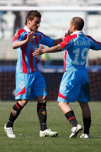 Y Gonzalo Bergessio puso el tanto para el triunfo definitivo de 2-1 para...