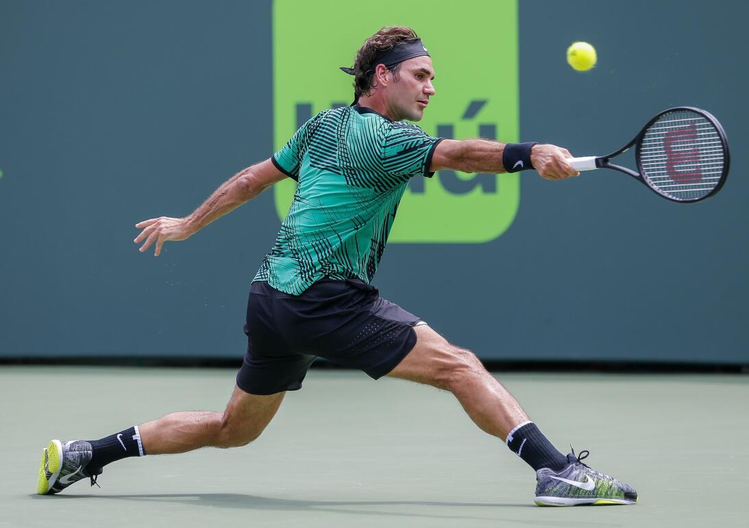 Roger Federer, el contudente campeón del ATP Miami Open 2017 63626761248...