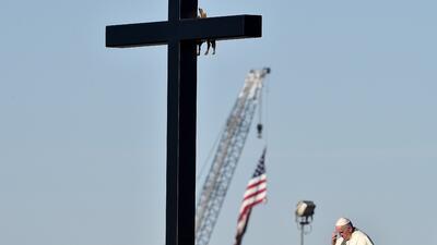 Imágenes del papa Francisco en Ciudad Juárez, la última parada en México