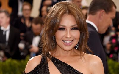 Thalía nos presumió el baño de burbujas que le preparó su esposo Tommy M...