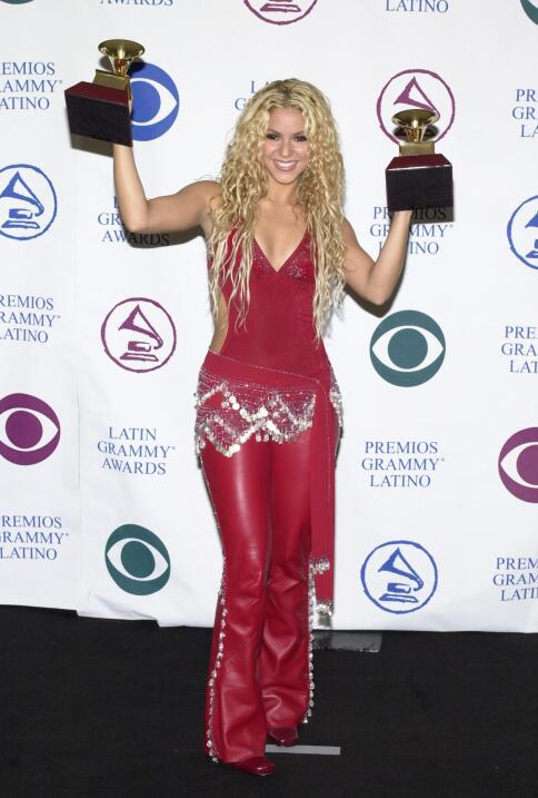 Shakira se llevó dos Latin GRAMMY en el 2000: Mejor Cantante de R...