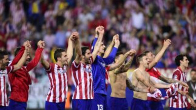 El Atlético hizo un partido completo ante Barcelona.