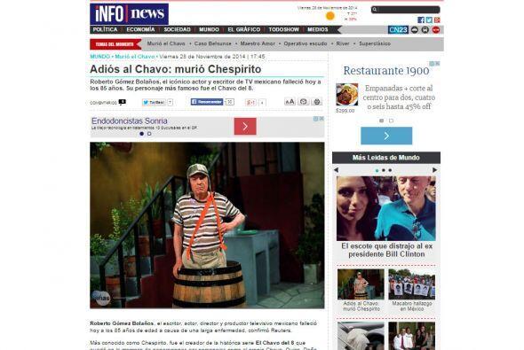 Info News de Argentina.