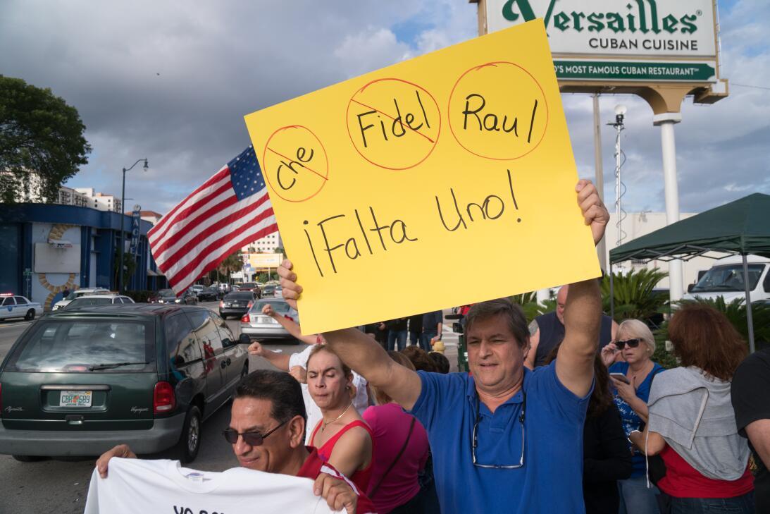 Muerte Castro Miami