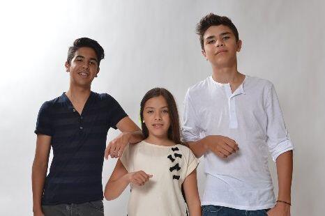Ellos heredaron el talento de su padre, el productor Abelardo Vázquez.