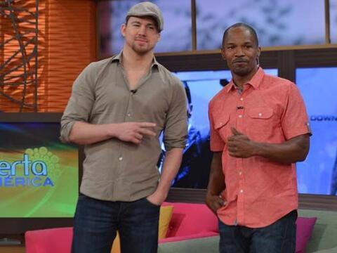 Los actores Jamie Foxx y Channing Tatum nos hicieron pasar una ma&ntilde...