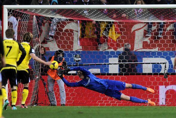 Cuando parecía que el Atlético podía mantener ese resultado, el croata I...