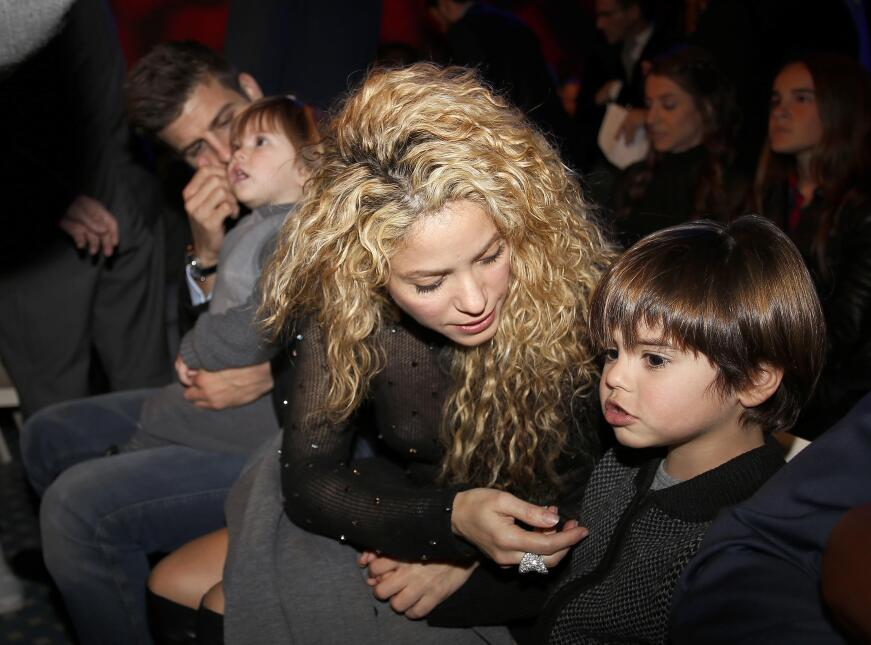 The singer Shakira and her boyfriend the soccer player Gerard Piqué are...