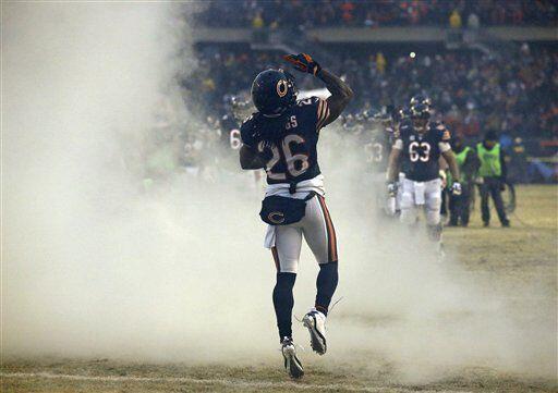 Tim Jennings, esquinero de los Chicago Bears (AP-NFL)