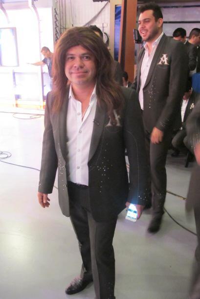 Pero Lupe no sólo estuvo con Derbez, también con Jorge Medina, vocalista...