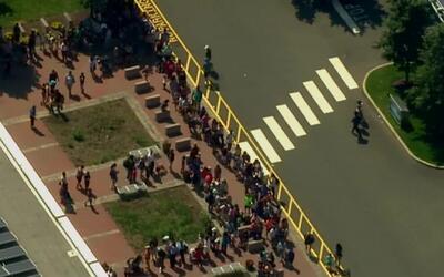 'Nueva York en un Minuto': miles de personas salieron a las calles de Nu...